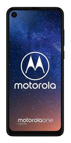 Imagem 1 de 3 de Motorola One Vision Dual SIM 128 GB azul-safira 4 GB RAM