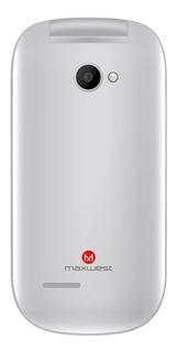 Celular Maxwest Uno Flip 2,4 Silver 8mb+32mb