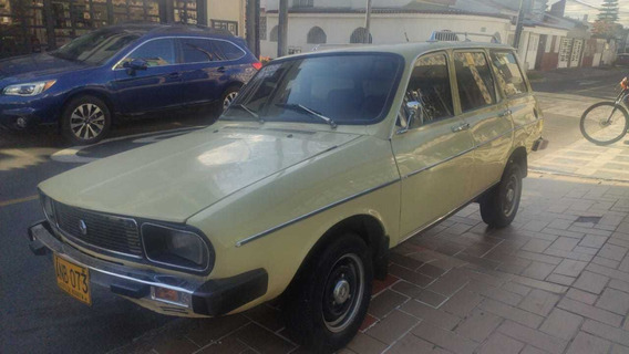 Renault 12 Break; Modelo 80 Original;papeles Al Día