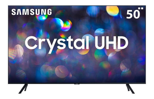 Imagem 1 de 4 de Smart Tv Led 50  Ultra Hd 4k Samsung Tu8000 Crystal Hdmi Usb