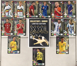 Panini Adrenalyn Xl Road To Russia 2018 Xxl 13 Limited Cards