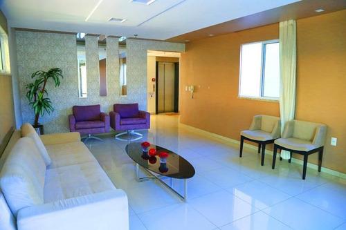 Apartamento Com 3 Dormitórios À Venda, 96 M² Por R$ 550.000,00 - Fátima - Fortaleza/ce - Ap2025