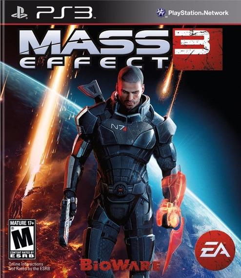 Jogo Mass Effect 3 - Playstation 3 - Mídia Física
