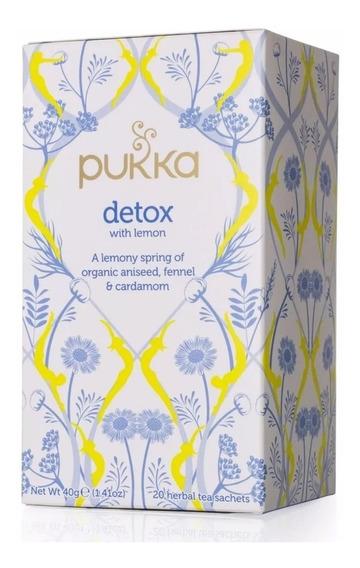 Té Organico Detox Con Limón Pukka Herbs A0003226