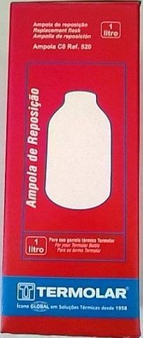 Ampola De Garrafa Térmica Termolar De Vidro 1,0 Lts Ref 520