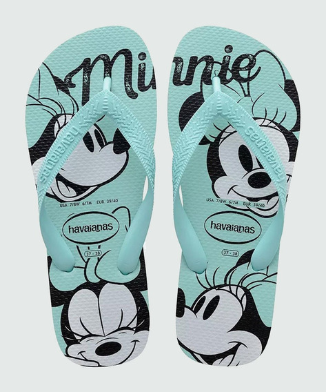 Chinelo Feminino Minnie Top Disney Havaianas 0642