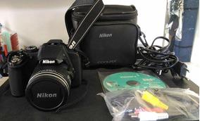 Câmera Fotográfica Nikon P520 Semi Profissional