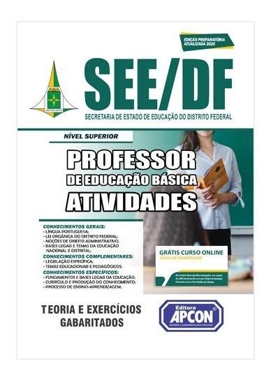 Apostila See-df 2020 Professor De Educação Básica Atividades