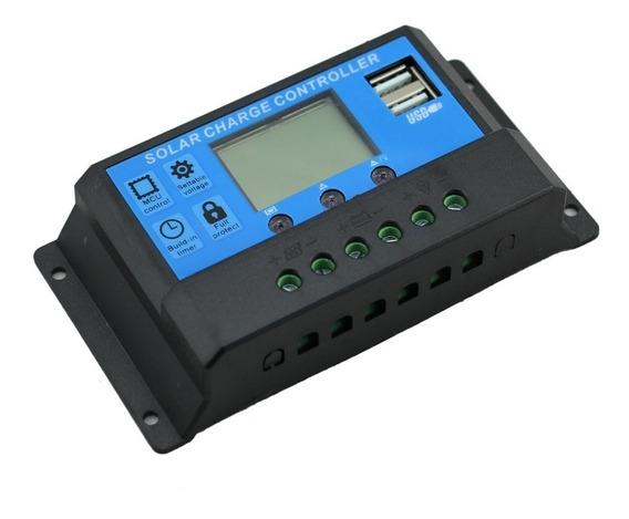 Controlador Carga Solar 20a 12v 24v Pwm
