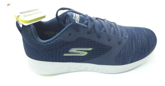 Zapatillas Skechers Go Run 600 55081 Nvgr Envíos País Gratis