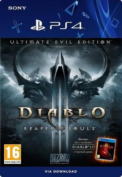 Diablo 3 Reaper Of Souls Ps4 /digital /original1
