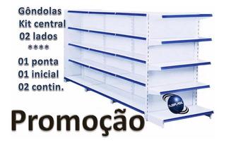 Kit Gondolas Centro 3 Metros 1inicial +2continuação +1ponta