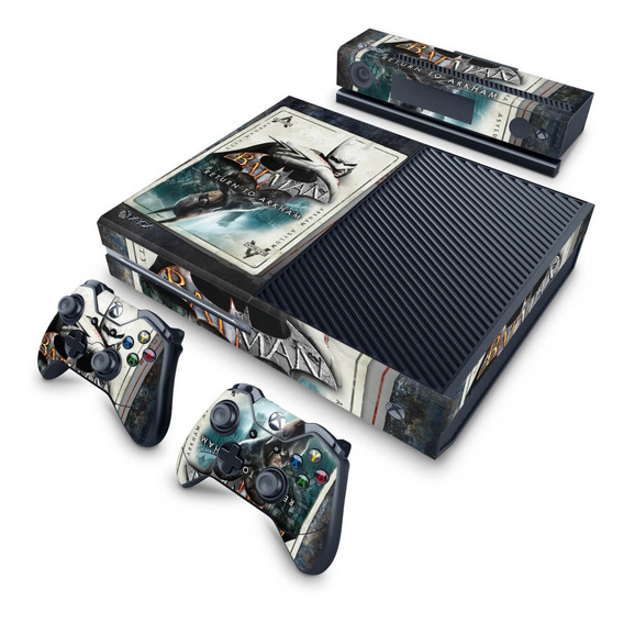 Skin Xbox One Fat Adesivo Return To Arkham