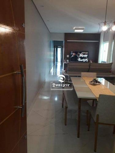 Cobertura Com 3 Dormitórios À Venda, 84 M² Por R$ 660.000,10 - Parque Das Nações - Santo André/sp - Co11587