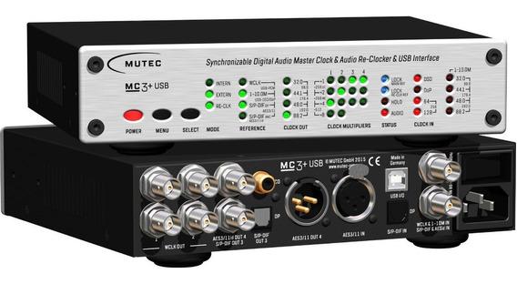Mutec Mc-3+ Smart Clock Usb - Highend Regen - Impecável