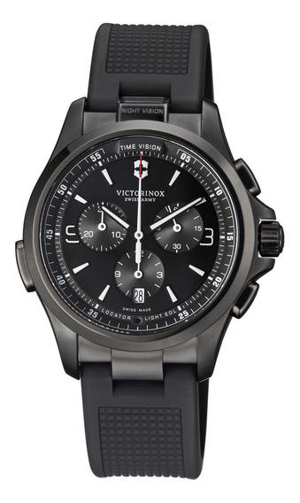 Relógio Masculino Victorinox 241731 Borracha, Silicone