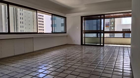 Apartamento Com 4 Quartos Para Alugar, 182 M² Por R$ 4.618/mês - Boa Viagem - Recife/pe - Ap2149