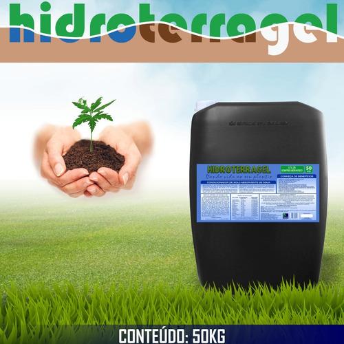 Imagem 1 de 4 de Gel Para Plantio - Mantém A Hidratação Radicular (50 Kg)