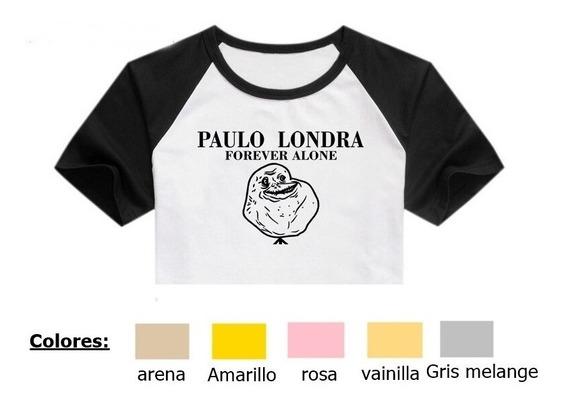 Remera Paulo Londra 2 Forever Alone Pupera