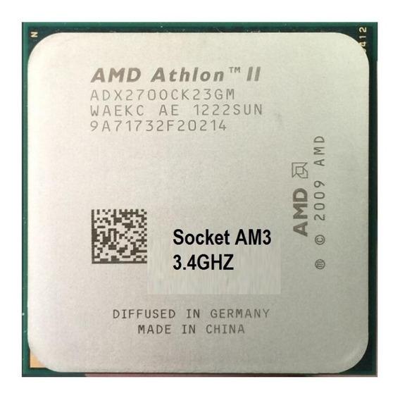 Processador Athlon Il X2 270 3.4ghz Am3 Semi Novo 2unidades
