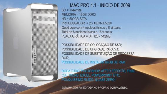 Apple Mac Pro 4.1 A1289 16gb Ram