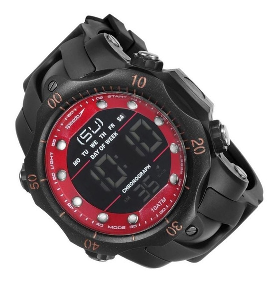 Relógio Speedo Sport Big Case Cronômetro Alarme 11005g0evnp1
