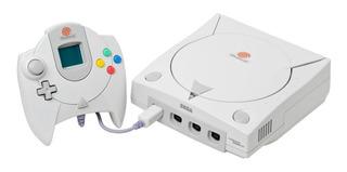 Consola Sega Dreamcast blanca