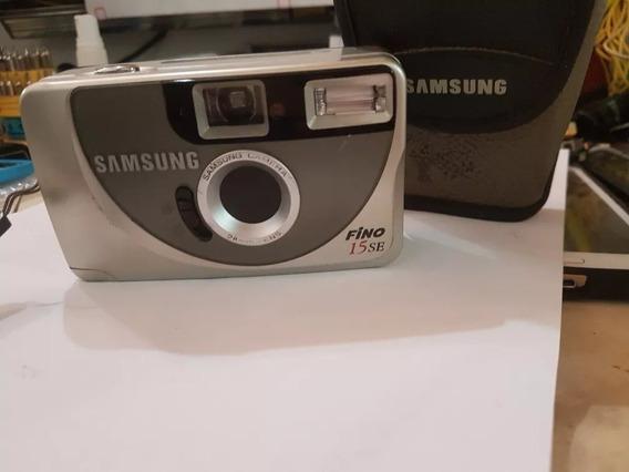 Camêra Fotográfica Samsung Fino 15 Se Perfeita Com Capa Orig
