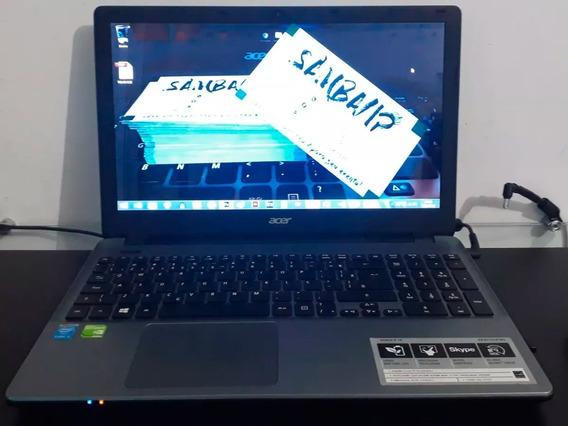 Notebook I5 Acer 15.6 E15 E5-571g-57mj Mem 10gb Hd 500gb