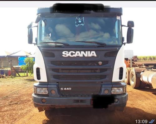 Imagem 1 de 11 de Scania G 440 6x4 2013 Bug Pesado R$ 270.000.