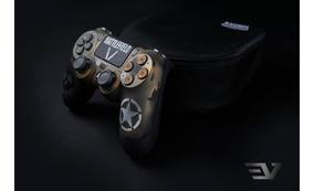 Controle Profissional Ps4 Evzen Elite Platinum Bf V,scuf