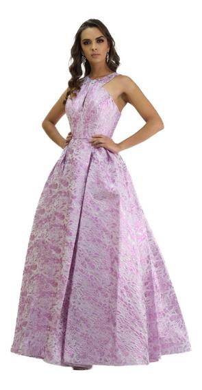 Vestido Largo Fiesta Corte Princesa Tentation Girl 2187