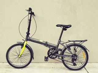 Bicicleta Plegable Gw Acero 20p Copenhague Shimano Aluminio