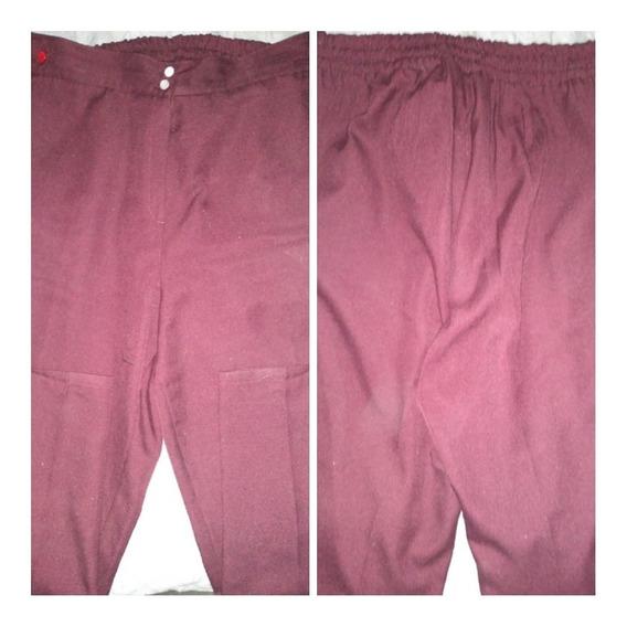 P243 Pantalón Dama Bordo De Invierno Talle 56 $699