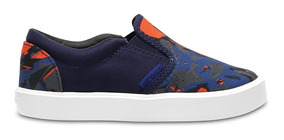 Crocs Citilane Novelty Slip-on K Blue Camo
