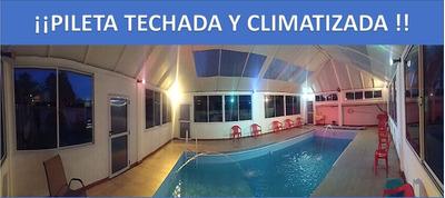 Quinta Con Departamentos, Piscina Techada Y Calefacionada