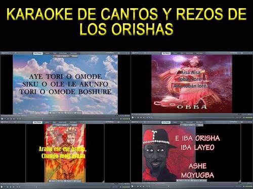 Karaoke Para Aprender Cantos De Los Orishas Mercado Libre