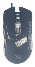 Mouse Gamer 7d 3200dpi Infokit Xsoldado Gm-720 (preto)