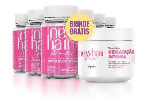 New Hair Caps - Tratamento 180 Dias