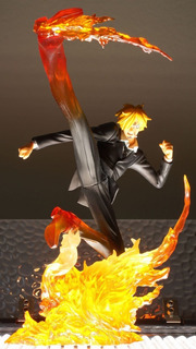 One Piece Sanji Diable Jambe Battle Ver.