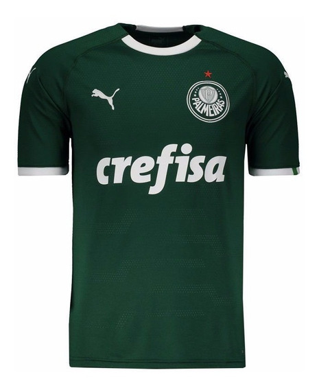 Camiseta Palmeiras Verde Puma Original De Partida 2019/20