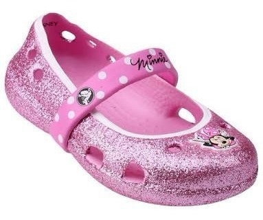 Sapatilha Crocs C6 Minnie Rosa