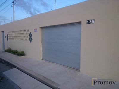 Vendo Ótima Casa No Bairro Aeroporto, Conj. Mirassol - Ca0363