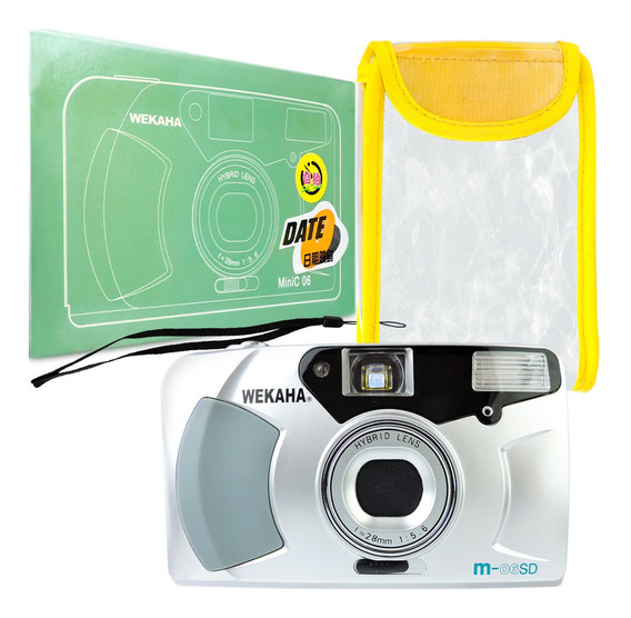 Máquina Fotográfica De Filmes Câmera Analógica 35 Mm