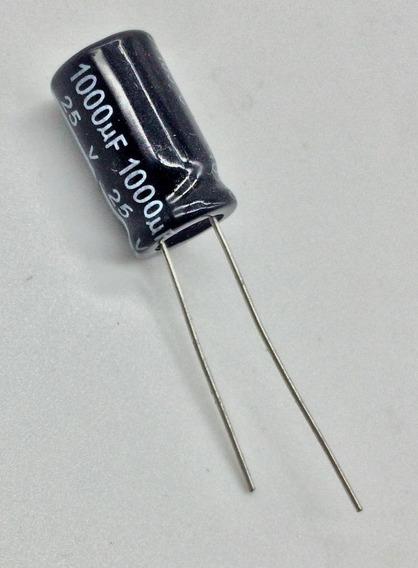 10x Capacitores Eletroliticos 1000uf X 25v 105ºc