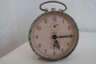 Reloj Antiguo Despertador Marca Kaiserr Western