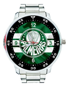 Relógio Palmeiras Porco Verdão Mancha Verde Futebol Top+vend
