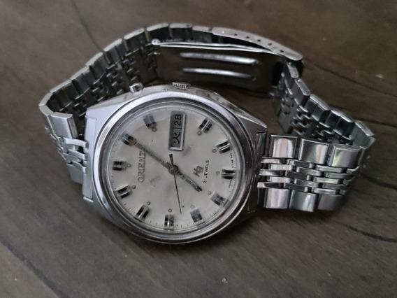 Relógio Orient Ha Gs469 714 Calendário Kenji (raríssimo)
