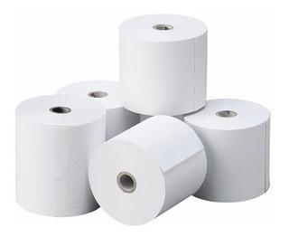 Rollos Fiscal Papel Térmico De 80 Mm Para Impresora Fiscal