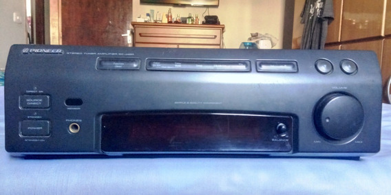 Pioneer Amplif. Mod. Sx J420 9 ( Def.)+deck Gradiente Sd Ii.